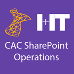 Central Agencies SharePoint Operations